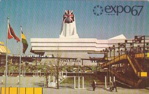 Canada Montreal Expo 67 Great Britain Pavilion
