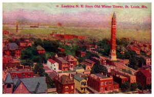 Missouri St.Louis looking Northeast from old Water Tower