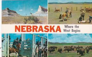 Nebraska Where The West Begins Multi View