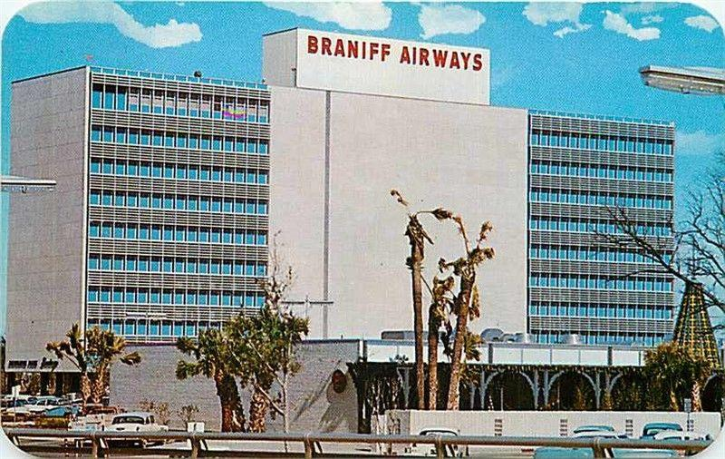 TX, Dallas, Texas, Braniff Airways Building, Exchange Park, Dexter No. 36049