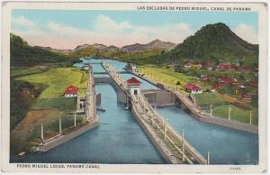 PEDRO MIGUEL LOCKS PANAMA CANAL