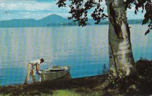 Vermont Beautiful Lake Memphremagog