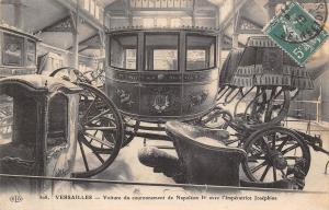 Versailles Voiture couronnement Napoleon Ier avec l'Imperatrice Josephine 1910