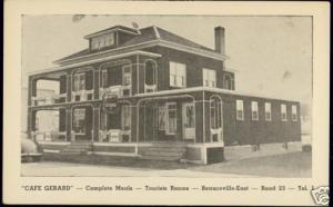canada, BEAUCEVILLE EAST, Quebec, Cafe Gerard (1940s)