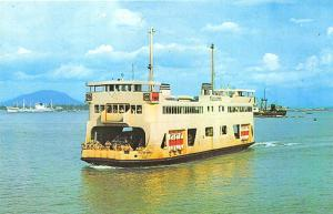 Penang/Butterworth Ferry Malaya Singapore # 6 Postcard