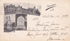 TARRYTOWN, New York, PU-1903; The Old Church, Multiple Views