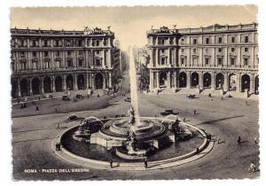 Italy Rome Fontana Naiadi Piazza Esedra Repubblica Fountain