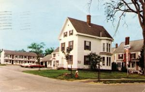 ME - Calais. The Barlow House and Motel