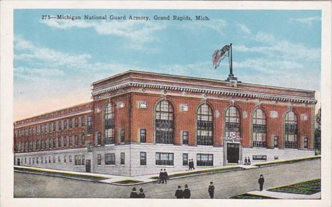 Michigan Grand Rapids Michigan National Guard Armory