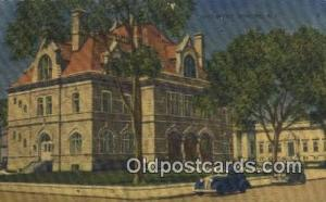 Concord, NH USA,  Post Office Postcard, Postoffice Post Card Old Vintage Anti...