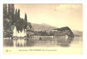 Lago di Como , ITALY, 00-10s : Villa Serbelloni vista dal lago di Lecco