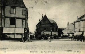 CPA BOURGES Place Planchat (863380)