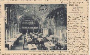 Gruss aus Alt-Bayern Berlin W. , Germany , 1904 ; Der Minnesanger-Saal