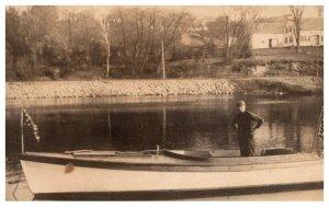 Antique Lake Speed Boat