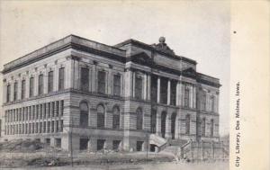 Iowa Des Moines City Library 1909