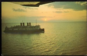 31720) PEI S.S. Prince Edward Island Ice Breaker Ferry Railway Autos Passengers