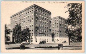 CAMBRIDGE, Massachusetts MA   HOTEL COMMANDER Washington Elm Site 1930s Postcard