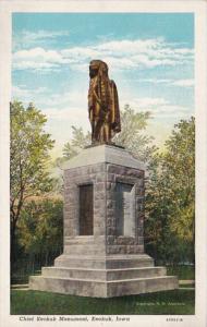 Iowa Keokuk Chief Keokuk Monument Curteich