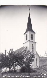 RP: MELLEN , Wisconsin , 1930s-40s ; German Lutheran Church