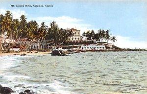 Mt Lavinia Hotel Colombo Ceylon, Ceylan Unused