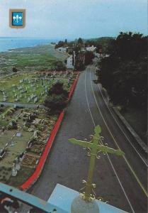 Birdseye View, Cemetery Marin St. Jean, Cemetery Along Road and Waterfront, I...