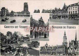 Modern Postcard Hello Furnes