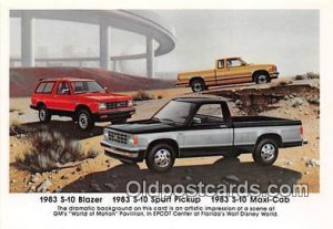 1983 S 10 Blazer 1983 S 10 Sport Pickup, Chevrolet Auto, Car Unused
