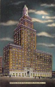 National Bank Of Tulsa At Night Tulsa Oklahoma