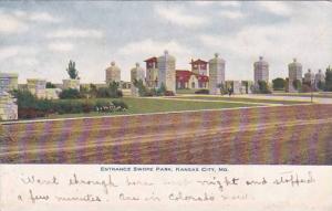 Missouri Kansas City Entrance Swop Park 1907