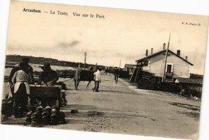 CPA ARCACHON-La TESTE-Vue sur le Port (27670)