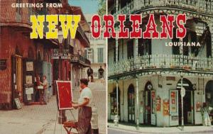 Louisiana New Orleans Greetings From New Orleans