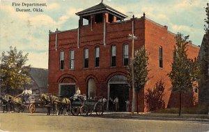 Fire Dept. Durant, Okla., USA Fire Department 1914