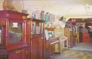 Antique Musical Collection Chuck Wagon Cafe & Musical Museum Atoka Oklahoma 1958