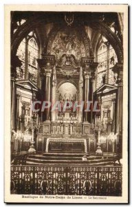 Old Postcard Basilica of Our Lady of Liesse Sanctuary