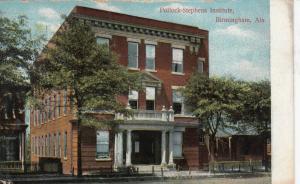 BIRMINGHAM, Alabama, 1909 ; Pollock-Stephens Institute