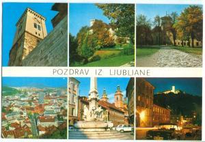 Slovenia, Pozdrav Iz Ljubljane, unused Postcard