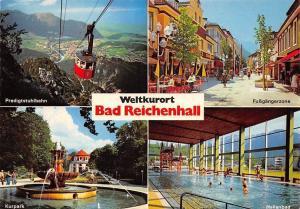 Weltkurort Bad Reichenhall, Kurpark Brunnen Hallenbad Predigtstuhlbahn