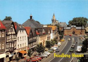 Friedberg Hessen Kaiserstrasse Shops Cafe Rosenschon Commerce Auto Vintage Cars