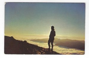 1960's Above The Clouds, Great Smoky Mountains Park, Tennessee Chrome Postcard