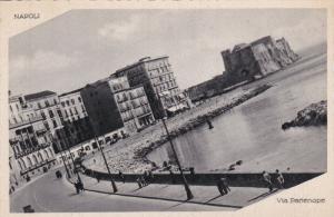 NAPOLI, Campania, Italy, 1900-1910's; Via Partenope