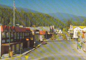 City Hall and Spokane Street Bavarian Village Kimberley British Columbia Canada