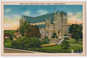 Immaculate Conception Church, Lowell MA