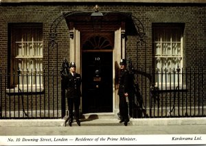 England London No 10 Downing Street Residence Of The Prime Minister