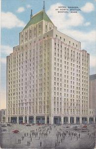 Hotel Manger at North Station, Boston, Massachusetts, PU-1952