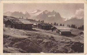 Balisalp Mit Wetterhorngruppe, Hohfluh, Berne, Switzerland, 1900-1910s