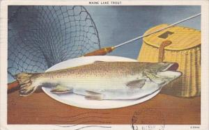 Maine A Maine Lake Trout 1946