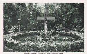 Floral Display Jewel Box-Forest Park, St Louis, Missouri, 40-60s