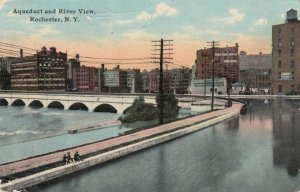 ROCHESTER, New York , 1912 ;  Aqueduct and River View