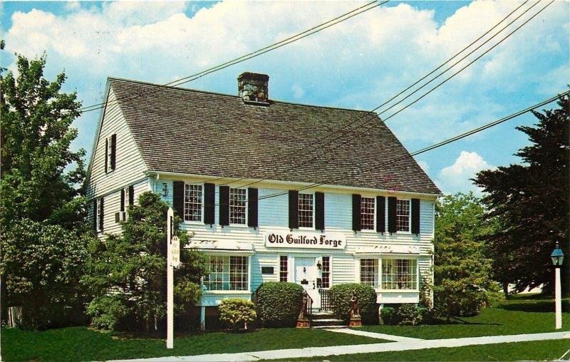 Guilford Connecticut~Old Guilford Forge Retail Store~On the Green~1970s