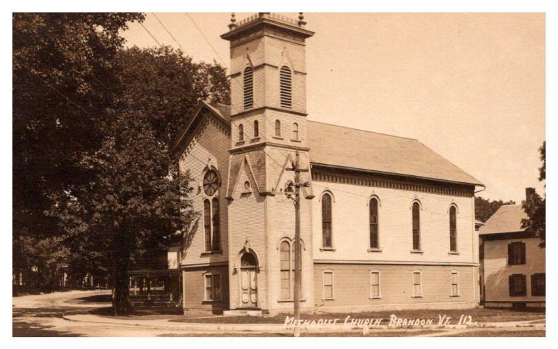 Vermont  Brandon ,  Methodist Church  , RPC